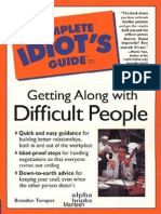 The Complete Idiot's Guide to Getting Along with Difficult People .pdf