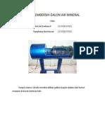 desain alat pembersih galon (solidwork)