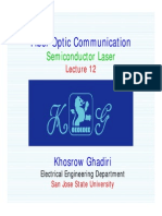 Lecture 12 - Fiber optic communication- Semiconductor Laser.pdf