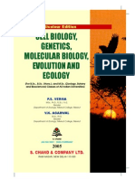 Cell Biology, Genetics, Molecular Biology, Evolution and Ecology Verma, Agarwal 2005