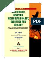 Cell Biology, Genetics, Molecular Biology, Evolution and Ecology Verma, Agarwal 2005