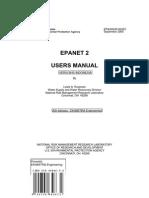Buku Manual Program EPANET Versi Bahasa Indonesia
