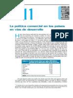 La Politica Comercial en Los Paises en Vias de Desarrollo