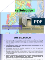site selection.ppt