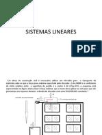 SISTEMAS LINEARES (1)