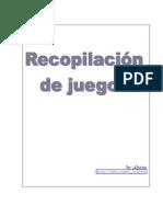 TALLER DE DINÁMICAS = RECOPILACION DE JUEGOS