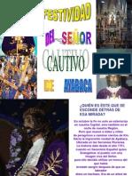 FESTIVIDAD DEL SEÑOR CAUTIVO - CORRECCIÓN