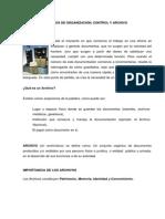Modulo 4.- Criterios de Organizacion Control y Archivo