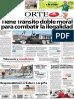 Periodico Norte de Ciudad Juarez 14 de Noviembre de 2013