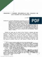 Salmanticensis. 1960, volumen 7, n.º 2. Páginas 257-330