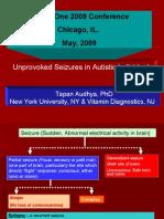 Unprovoked Seizures in Autistic Individuals