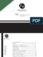 T Manual de imagen corporativa Dos mas uno.pdf