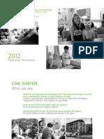 The 2012 Report of Hospice Casa Sperantei