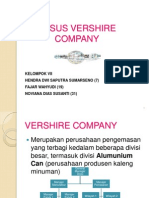 Case VERSHIRE COMPANY FINAL.ppt