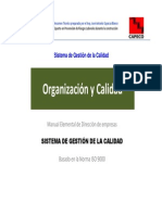 Organización y Calidad