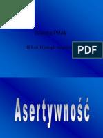 Joanna Pilak Asertywnosc