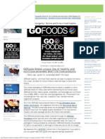 GOFoods Youngevity - For health, survival plus more