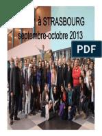 Sejour a Strasbourg