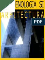 Fenomenologia Si Arhitectura