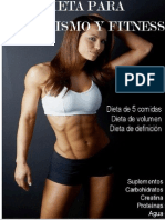 Dieta Para Culturismo y Fitness