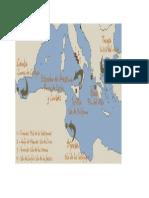 Mapa Del Viaje de Ulises