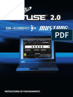 FenderFUSE v2.0 Manual Spanish