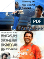 History Of the God Of Cricket-Sachin Tendulkar