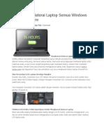 Menghemat Baterai Laptop Semua Windows Tanpa Software.docx