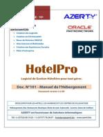 Manuel de l Hebergement HotelPro 3.2.90 0