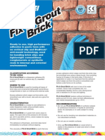 Fix & Grout Brick Gb