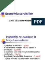 Economia Serviciilor Prezentare Curs Structura