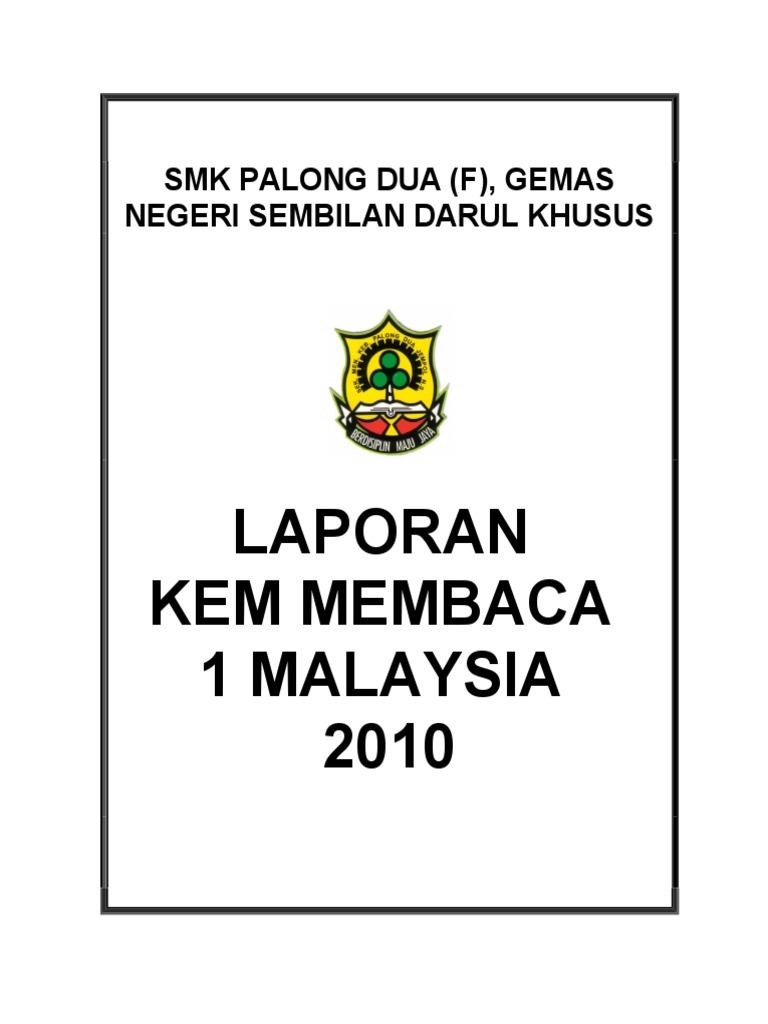 Laporan Program Kem Membaca 1 Malaysia1c