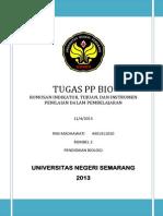 REVISI AKHIR Tugas PP Bio - Indikator, Tujuan, Instrumen Pembelajaran
