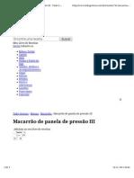 MACARRÃO DE PANELA DE PRESSÃO