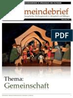 Gemeindebrief 2011 12 Weihnachten - 6. Ausgabe