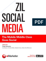 eMarketer Brazil Social Media-The Mobile Middle Class Goes Social