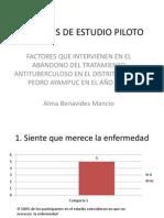 ANÁLISIS DE ESTUDIO PILOTO