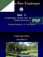 Bab 3 Lingkungan Hidup dan Hubungan Fungsionalnya.PPT