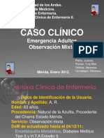 Caso Clinico en Enfermeria