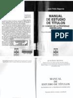 Feliu Segovia, Juan - Manual de Estudio de Títulos.pdf