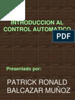 Introduccion Al Control Automatico