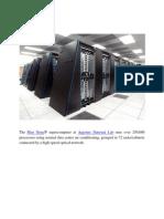The Blue Gene-- SuperComputer ever best.docx