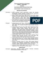 Peraturan Menteri Dalam Negeri Nomor 1 Tahun 2008 Tentang Pedoman Perencanaan Kawasan Perkotaan