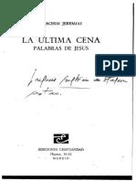 Jeremias, Joachim. La Ultima Cena.pdf