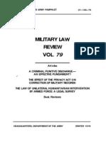 MILITARY LAW REVIEW VOL 79.pdf