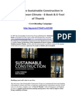 39 Steps to Sustainable Construction in Mediterranean Climate E Book E Tool of Thumb