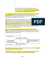 business letter format and sample