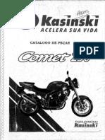 Catalago.peças.em.portugues.Kasinski.Comet.250