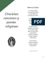 Oraciones Canciones y Poesias Religiosas