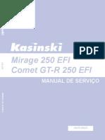 Kasinski Mirage EFI Manual Servico Mirage EFI